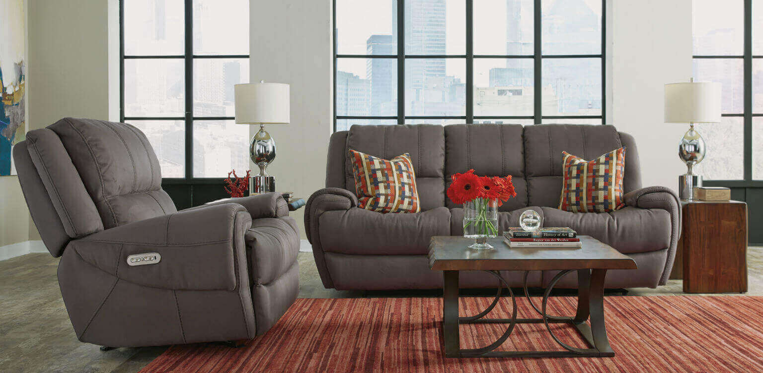 Flexsteel Furniture For Home And Business - Flexsteel sofa leather