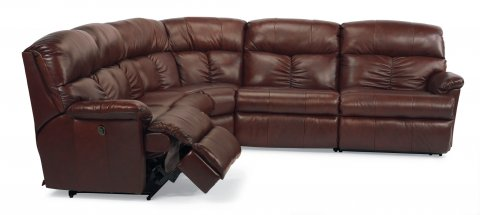 Triton Power Reclining Sectional 3098-SECTP with 57M, 59M, 23, 19, & 58M pieces in 034-60