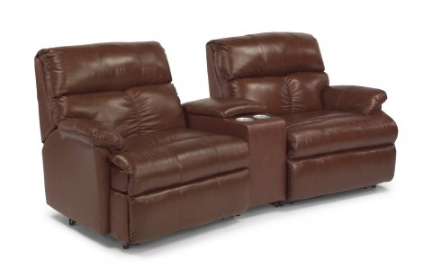 Triton Reclining Sectional 3098-SECT with 57, 70, & 58 pieces in 577-72