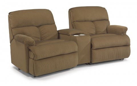Triton Reclining Sectional 7098-SECT with 57, 70, & 58 pieces in 421-80