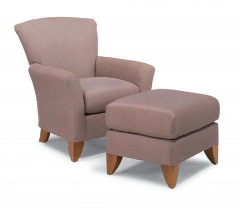 Rambler Chair & Ottoman C030C-10