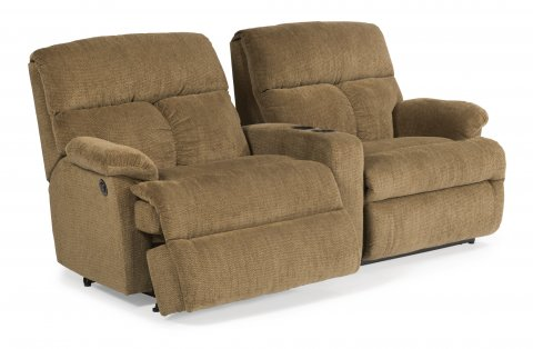 Triton Power Reclining Sectional 7098-SECTP with 57M, 72, & 58M pieces