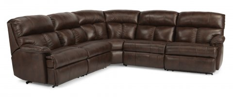 Triton Reclining Sectional 3098-SECT with 57, 59, 23, 19, & 58 pieces in 469-72