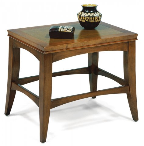 Pratt Rectangular End Table C1076-01V