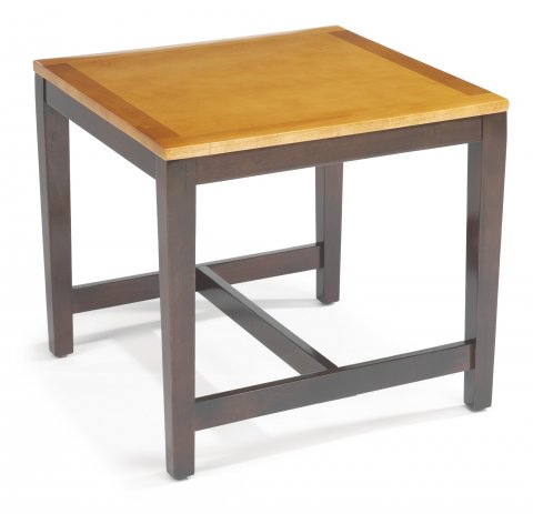 Plank Square End Table CA523-02NS