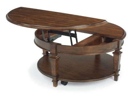 Oakbrook Round Lift-Top Coffee Table 6692-0341