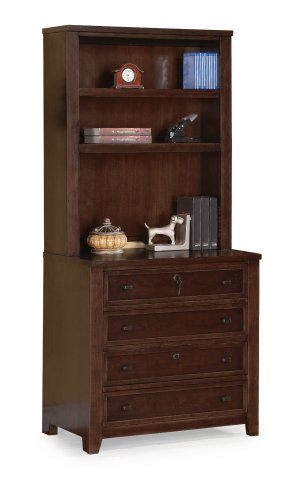 Theodore Bookcase Hutch W1287-746 & Lateral File Cabinet W1287-767