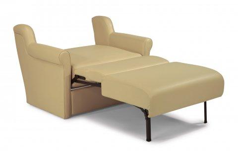 single foldout sleeper chair