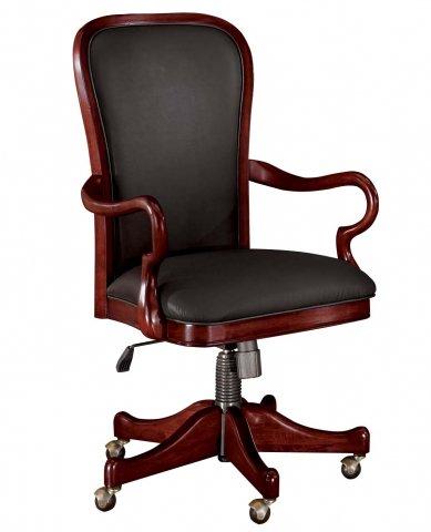 gooseneck arm desk chair