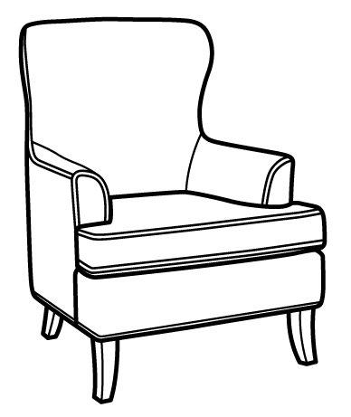 Sublime Chair CA843-10