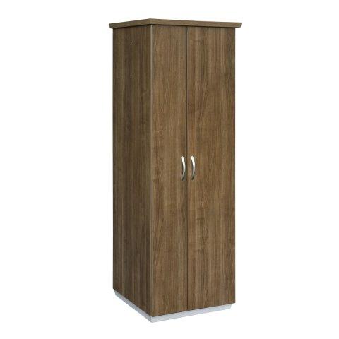 Pimlico Right Hand Facing Bookcase Wardrobe with Laminate Doors 7027-08RHL