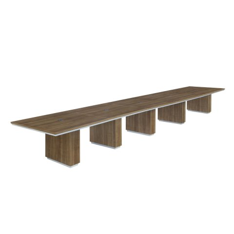 Pimlico 20' Rectangular Expandable Conference Table 7027-240REX