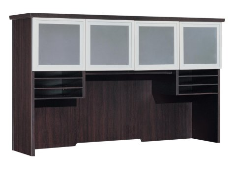 Pimlico Overhead Storage with Frosted Glass Doors 7020-61