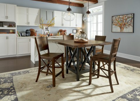 Carpenter Square Dining/Counter Table Lifestyle