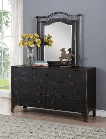 Homestead Dresser W1037-860 & Mirror W1037-880