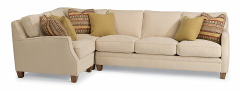 Lennox Sectional 7564-SECT shown with 17, 231, & 38 pieces