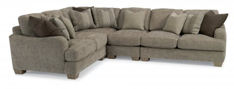Vanessa Sectional 9311-SECT shown with 27, 231, 19, & 28 pieces in 018-01