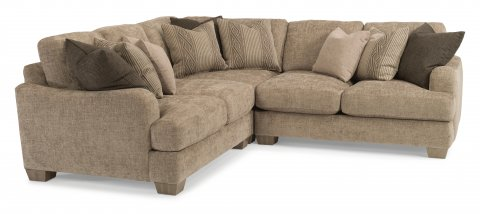 Vanessa Sectional 9311-SECT shown with 27, 231, & 28 pieces in 018-01