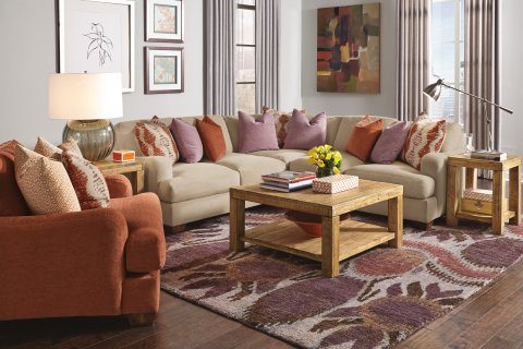 Vanessa Sectional Lifestyle
