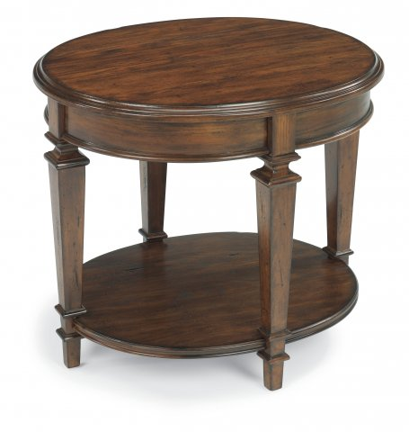 Nice Oval End Table
