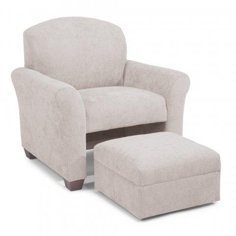Tego Chair & Ottoman C2606-10