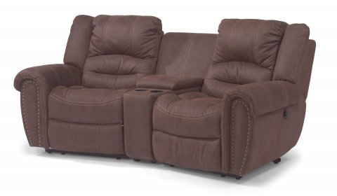 New Town Fabric Reclining Sectional 1410-SECT shown with 57, 70, & 58 pieces in 136-70