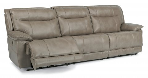 Bliss Fabric Power Reclining Sectional 1730-SECTP shown with 57P, 59P, & 58P pieces in 044-84