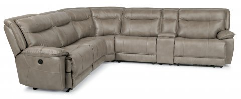 Bliss Fabric Power Reclining Sectional 1730-SECTP shown with 57P, 59P, 23, 19, 72, & 58P pieces in 044-84