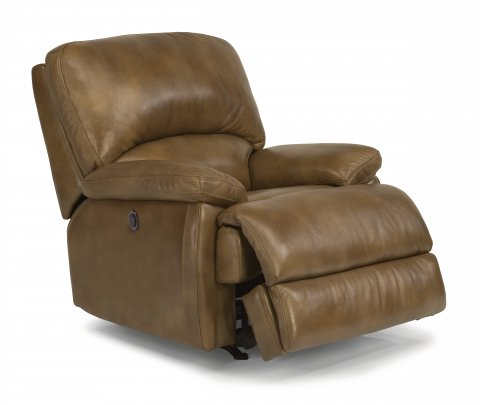 Dylan. Leather Power Recliner with Chaise Footrest  sc 1 st  Flexsteel & Dylan | Flexsteel.com islam-shia.org