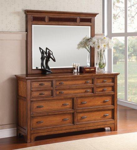 River Valley Dresser W1572-860 & Mirror W1572-880