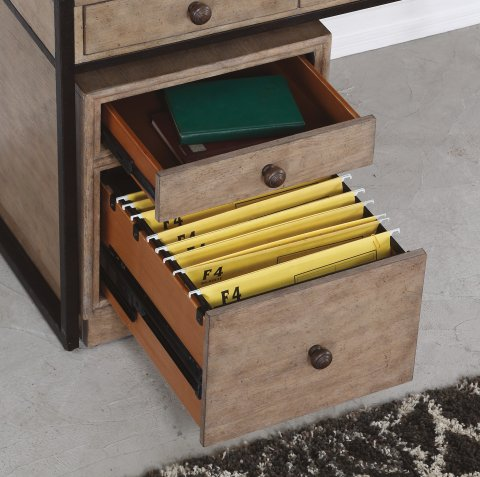 Carmen File Cabinet with Casters W1346-751