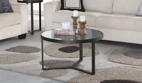 Carmen Small Round Bunching Coffee Table W1446-0344