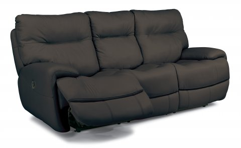 ... Evian Leather Power Reclining Sofa 1447 62P In 675 02 ...