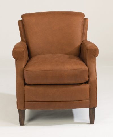 Max Leather Chair 1282-10 in 441-54