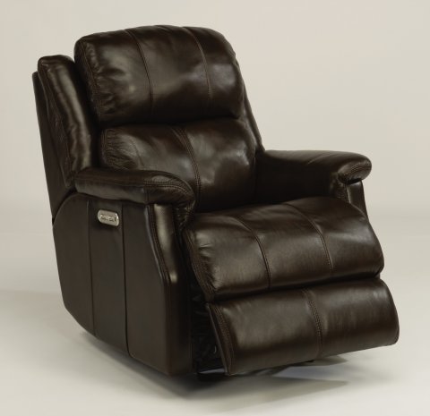 Mateo Leather Power Gliding Recliner with Power Headrest 1240-54PH in 418-70