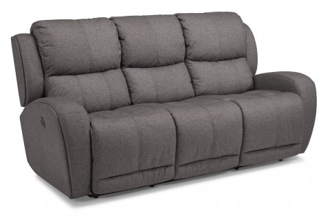 Chaz Fabric Power Reclining Sofa 1838-62P in 371-02
