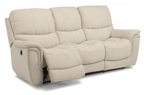Coco Fabric Power Reclining Sofa 1850-62P in 372-11