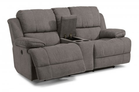 Fabric Power Reclining Loveseat with Console  sc 1 st  Flexsteel & Sofas and Loveseats | Reclining Sofas and Sleepers | Flexsteel islam-shia.org