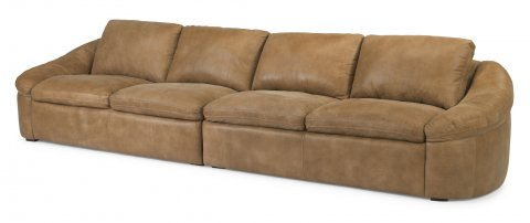 Echo Leather Sectional 1199-SECT shown with -27 & -28 pieces in 446-80
