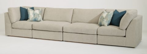 Selina Sectional 7928-SECT shown with 231, 19, 19, & 231 pieces in 311-01