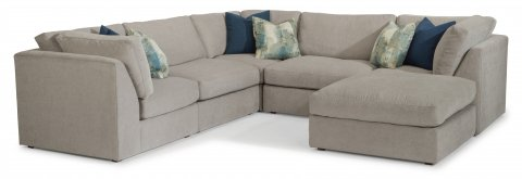 Selina Sectional 7928-SECT shown with 231, 19, 231, 19, 231, & 092 pieces in 311-01
