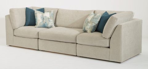 Selina Sectional 7928-SECT shown with 231, 19, & 231 pieces in 311-01