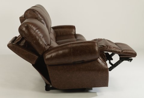 Colton Leather Power Reclining Sofa with Power Headrests 1583-62PH in 356-72