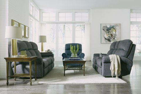Langston Power Reclining Loveseat with Console Lifestyle