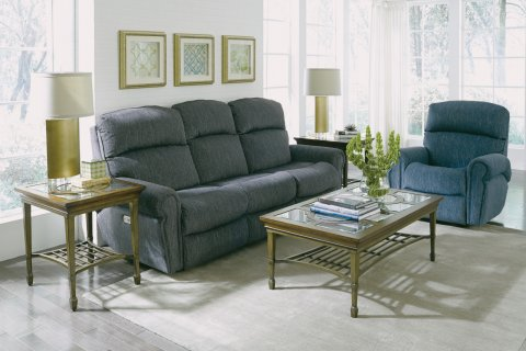 Langston Power Reclining Sofa with Power Headrests Lifestyle