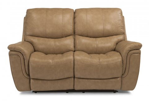 Coco Leather Power Reclining Loveseat 1851-60P in 485-72