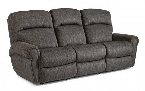 Langston Reclining Sofa 4504-62 in 438-02