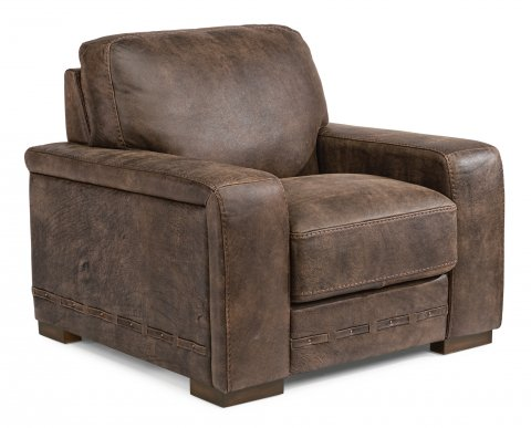 Buxton Leather Chair 1117-10 in 478-70