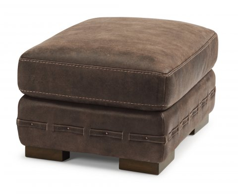 Buxton Leather Ottoman 1117-08 in 478-70