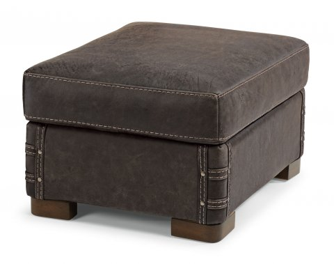 Lomax Leather Ottoman 1131-08 in 459-70